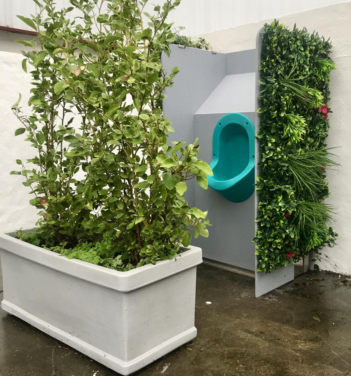 Des urinoirs encore plus au vert